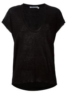 Alexander Wang knit scoop neck top - Black