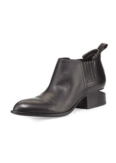 Alexander Wang Kori Leather Tilt-Heel Boot