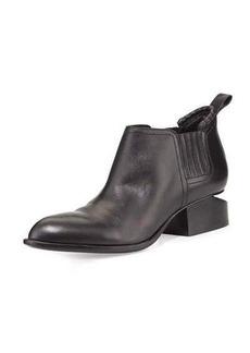 Alexander Wang Kori Leather Tilt-Heel Boot