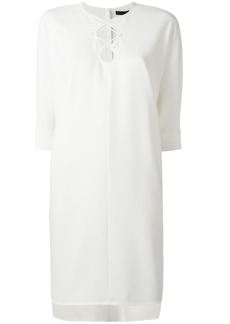 Alexander Wang lace-up dress - White