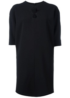 Alexander Wang lace up front dress - Black