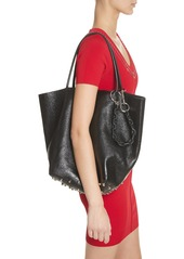 Alexander Wang Large Roxy Covered Chain Leather Bucket Bag