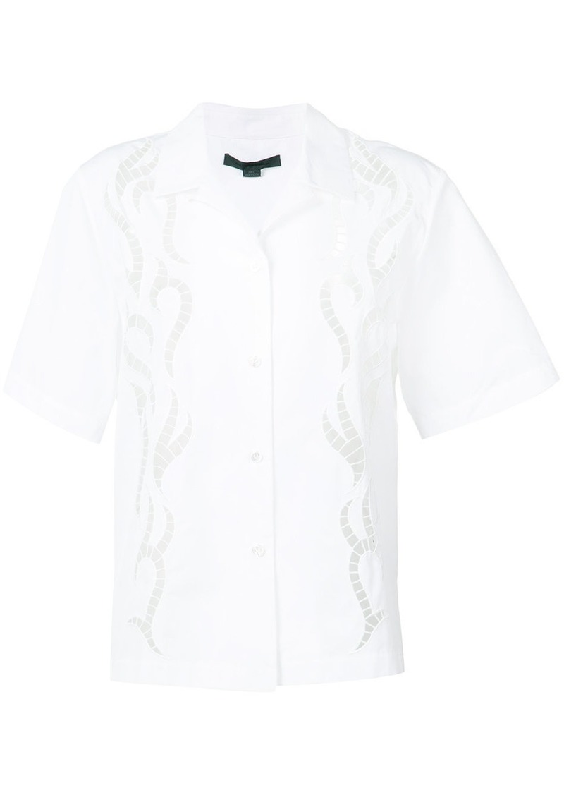 Alexander Wang laser cut shirt