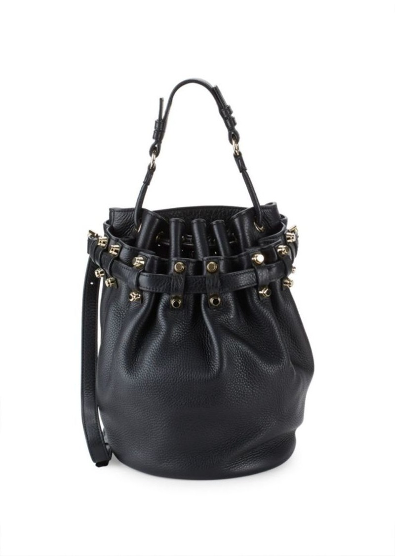 """Outfit: Alexander Wang Diego Bucket Bag!!!! At this point, Alexander Wang is the only designer I own multiple bags of; they just """"speak"""" to me. Donna was my first, then Coco came along, and now, Diego joins the family LOL."""