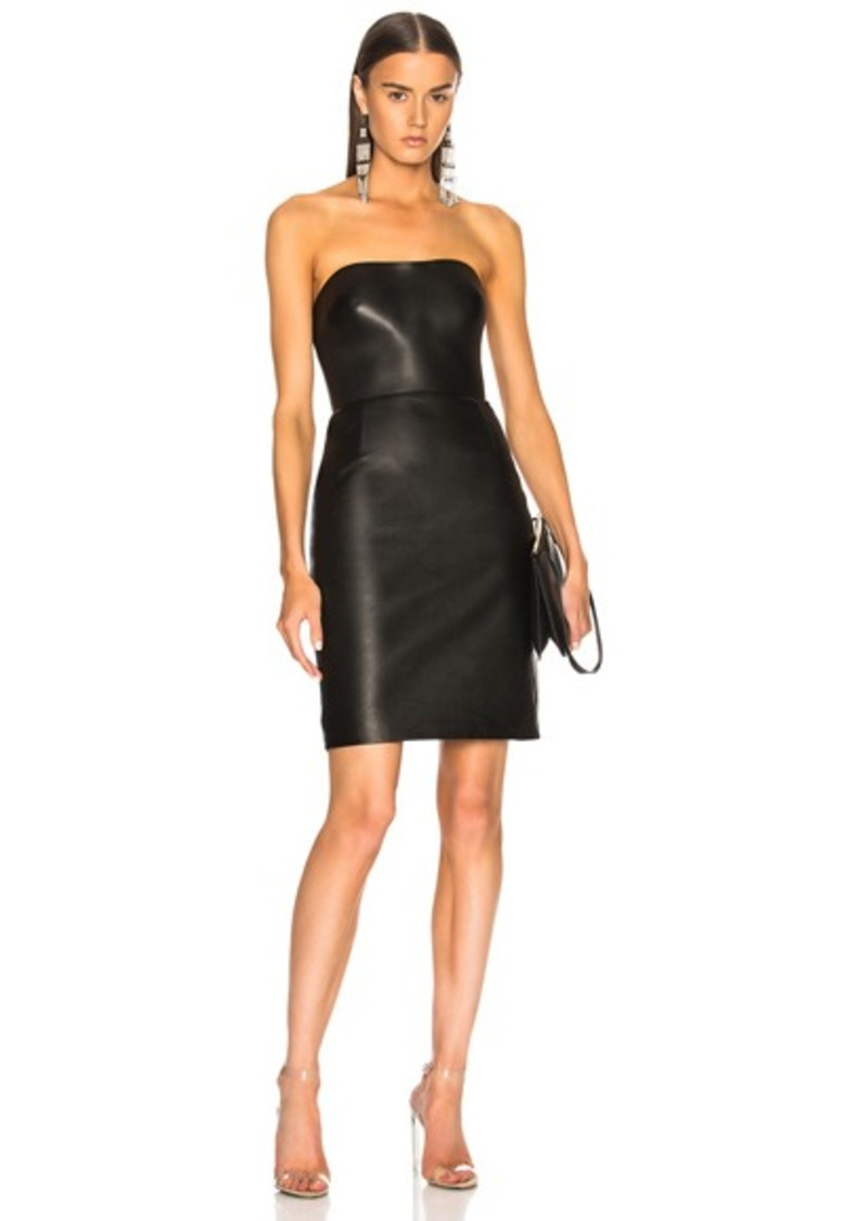431348ee4 Alexander Wang Alexander Wang Leather Bustier Dress