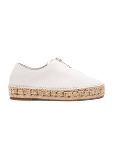 Alexander Wang Leather Devon Espadrille