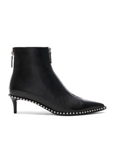 Alexander Wang Leather Eri Low Boots