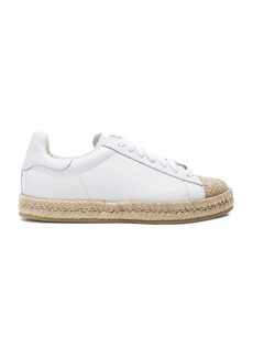 Alexander Wang Leather Rian Espadrilles