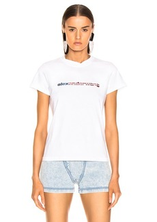 Alexander Wang Logo Decal T-Shirt