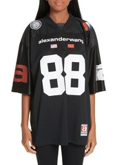 Alexander Wang Logo Jersey Top