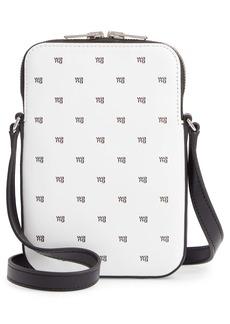 Alexander Wang Logo Leather Shoulder Bag