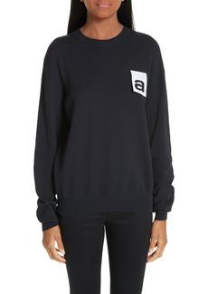 Alexander Wang Logo Tag Sweater