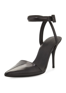 Alexander Wang Lovisa Leather Ankle-Strap Pump