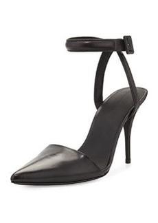 Alexander Wang Lovisa Leather Ankle-Strap Pump