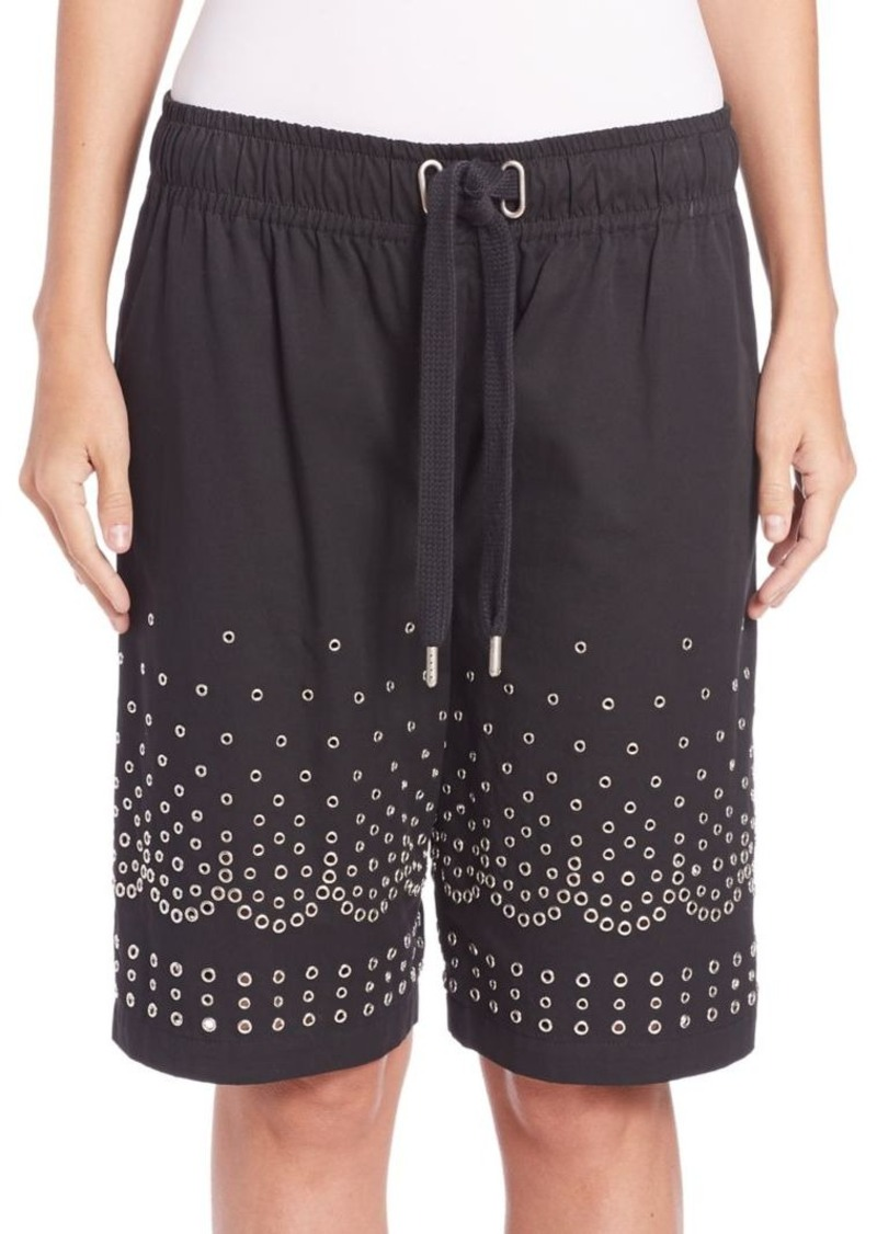 Alexander Wang Low-Rise Board Shorts