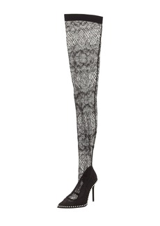 Alexander Wang Lyra Lace Over-the-Knee Boot