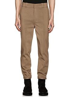Alexander Wang Men's Cotton-Blend Straight Trousers