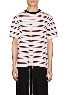 Alexander Wang Men's Striped Cotton Oversized T-Shirt