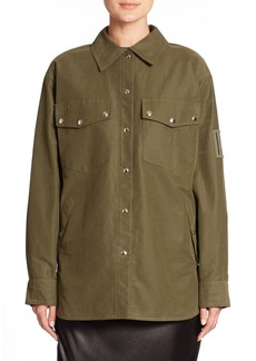 Alexander Wang Military Shirt Jacket