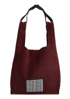 Alexander Wang Mini Chenille Corduroy Shopper