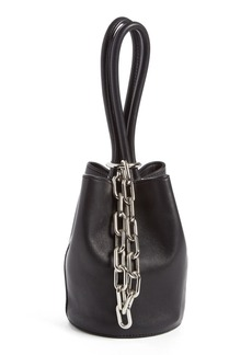 Alexander Wang 'Mini Palladium' Lambskin Leather Bucket Bag