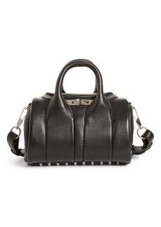 Alexander Wang Mini Rockie - Nickel Leather Satchel