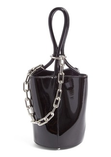Alexander Wang Mini Roxy Patent Leather Bucket Bag