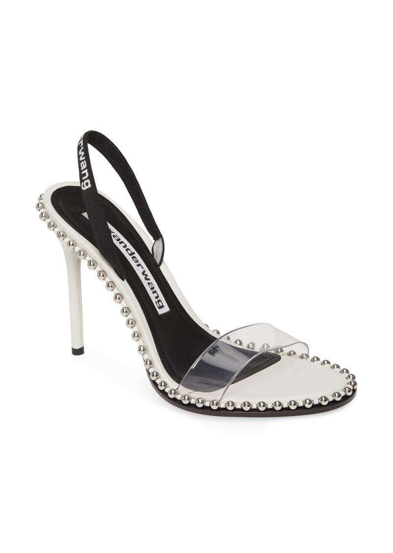 Alexander Wang Nova Studded Clear Sandal (Women)