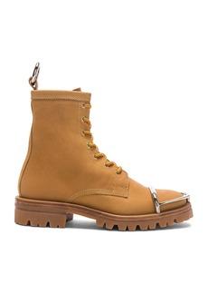 Alexander Wang Nubuck Leather Lyndon Boots