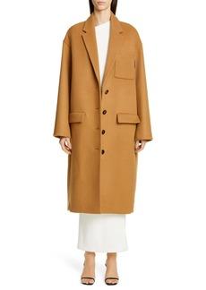 Alexander Wang Oversize Drop Shoulder Wool Coat