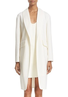 Alexander Wang Oversize Stretch Wool Coat