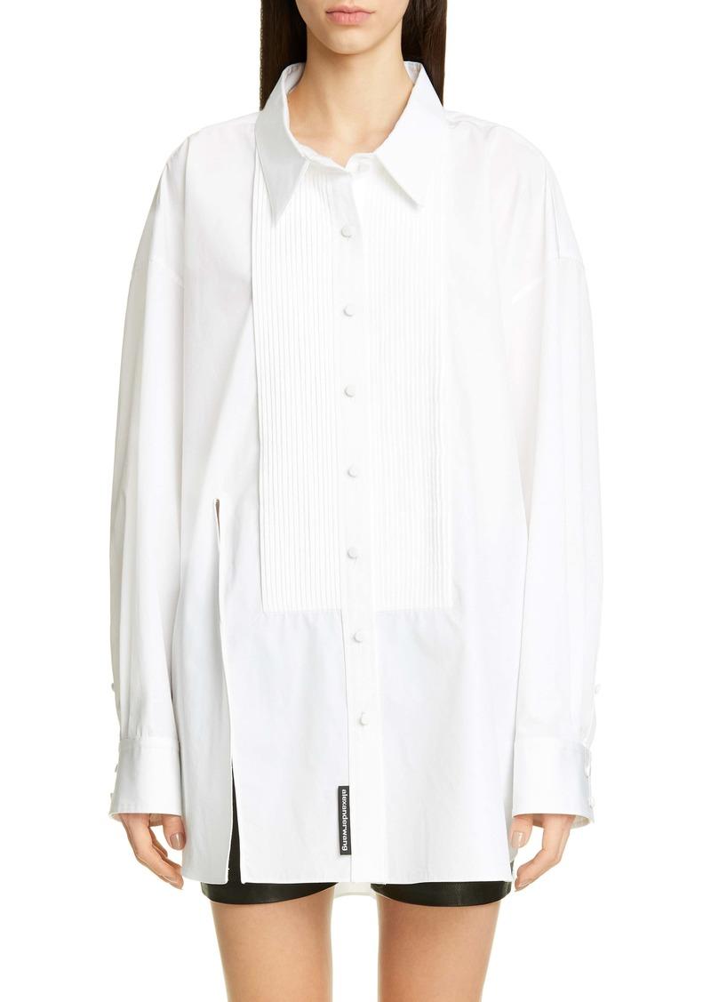 Alexander Wang Oversize Tuxedo Shirt