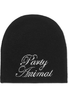Alexander Wang Party Animal wool and cashmere-blend beanie