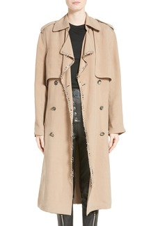 Alexander Wang Pierced Trench Coat