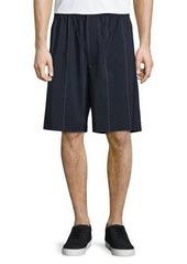 Alexander Wang Pinstripe Board Shorts