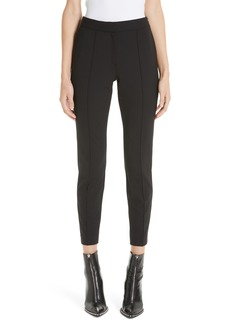 Alexander Wang Pintucked Stretch Wool Blend Slim Trousers