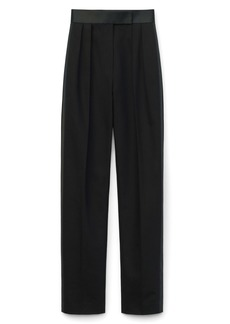 Alexander Wang Pleated High Waist Tuxedo Trousers