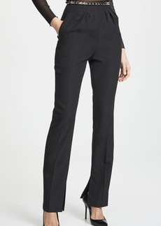 Alexander Wang Pleated Trouser with Studded Belt