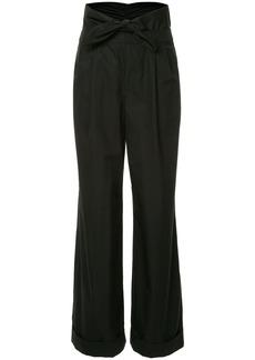 Alexander Wang Poplin Pleat Front trousers