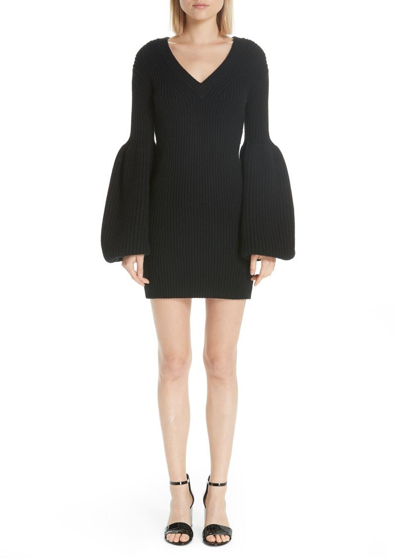 c3d0cb051d Alexander Wang Alexander Wang Puff Sleeve Sweater Dress