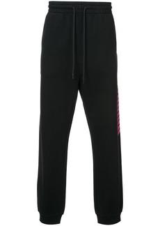 Alexander Wang retro stripe track pants - Black