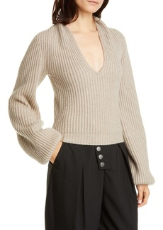 Alexander Wang Ribbed Wool & Cashmere Blend Sweater