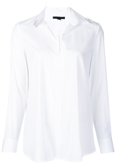 Alexander Wang ring piercing blouse - White