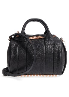 Alexander Wang Rockie Dumbo Leather Satchel