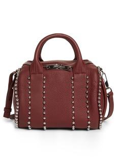 Alexander Wang Rockie Studded Leather Crossbody Satchel