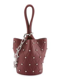 Alexander Wang Roxy Mini Studded Bucket Bag