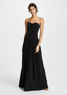 Alexander Wang Ruched Bodice Gown