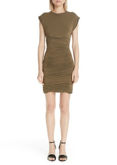 Alexander Wang Ruched Jersey Body-Con Dress