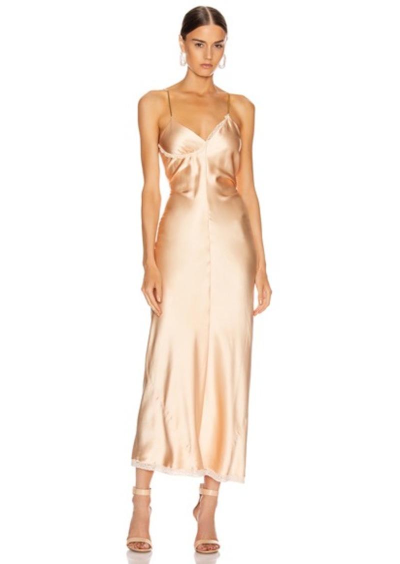 Alexander Wang Ruched Slip Dress