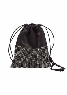 Alexander Wang Ryan Mini Crystal Bucket Bag